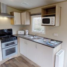 comfort caravan kitchen