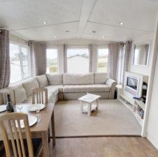 superior caravan-living area