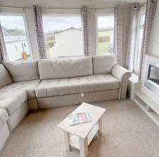 superior caravan living room