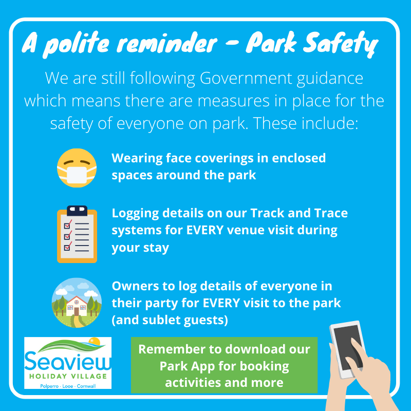 Park safety at Seaview Holiday Village
